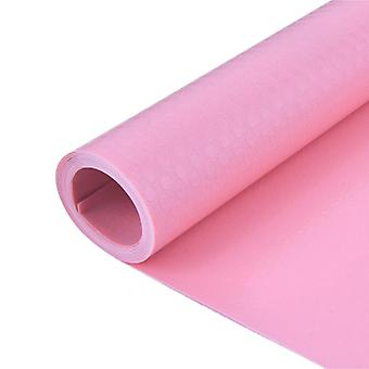 Moisture-proof Cabinet Mat Kitchen Oil-proof Mat 150x60cm Pink