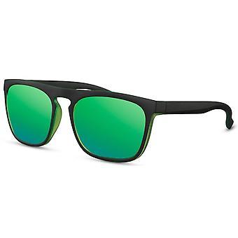 نظارات شمسية رجال الرجال المسافرين الأسود / الأخضر (CWI2496)