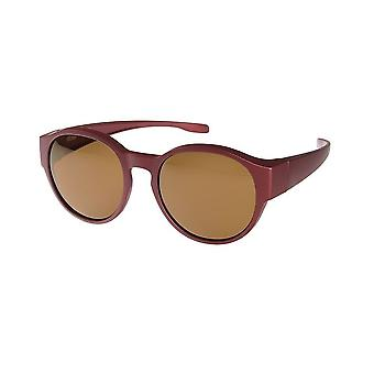 Sunglasses Unisex Transition VZ-0039DC dark red