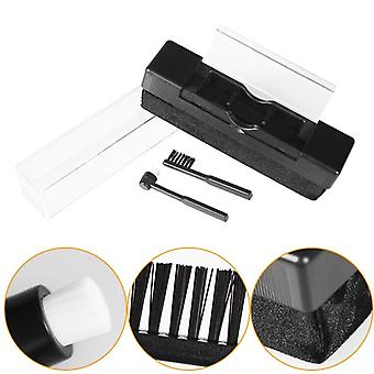 Carbon Fiber Scrubbing Clean Brush, Turntable Handle Cleaning Brush For Lp