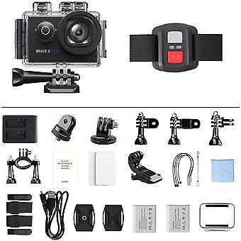 WiFi Action Camera with Touch Screen Zoom Voice and Remote Control