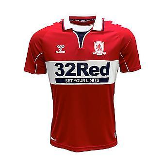 2020-2021 Middlesbrough Hummel Thuisvoetbalshirt