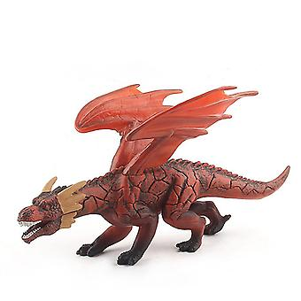 Ice Dragons Toy Figure Realistic Dinosaur Model Kids Birthday Gift Toys