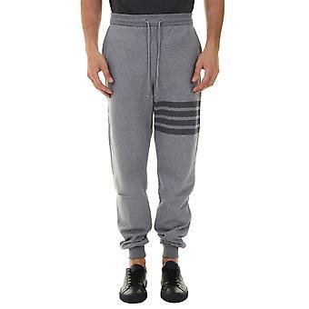 Thom Browne Mjq008a06910035 Men's Grey Cotton Joggers