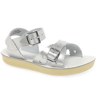 Salt-Water Sweetheart Girls Infant Water Friendly Buckle Sandals