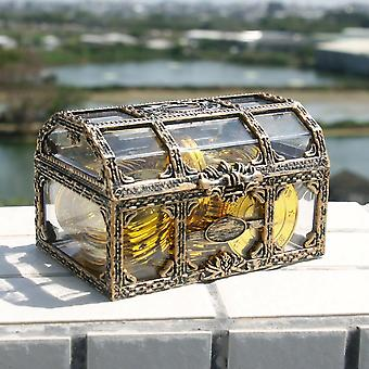 Plastic Money Container Storage Box - Transparent Pirate Anime