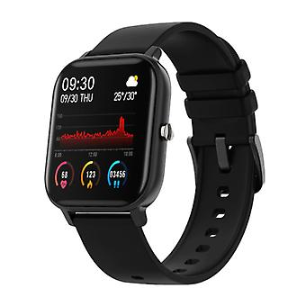 COLMI P8 Smartwatch Smartband Smartphone Fitness Sport Activity Tracker Watch OLED iOS iPhone Android Black Silicone Strap