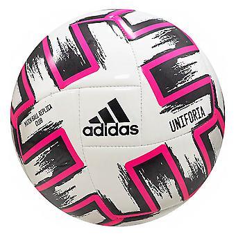 adidas Euro 2020 Uniforia Club Piłka nożna Piłka nożna Biały/Czarny/Różowy