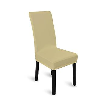 8X Stretch Elastic Chair Covers Dining Room Wedding Banquet Washable Champagne