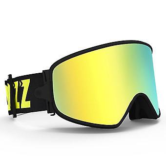 Ski 2in1 med magnetisk lins för natten anti-dimma uv400 snowboard män kvinnor glasögon