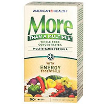 American Health mere end en flere tabletter, Energy Essentials 90 TABS
