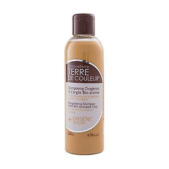 Oxygenating Shampoo with Clay 200 ml (Orange)