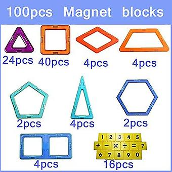 Big Size Designer Magnetic Square Building Constuction Blocks For Baby