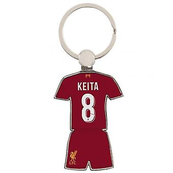 Liverpool Player Keyring Keita