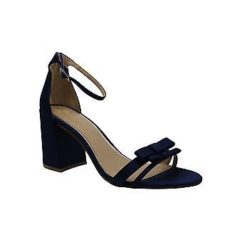 BADGLEY MISCHKA Women's Shoes Rio Satin Open Toe مناسبة خاصة حزام الكاحل...