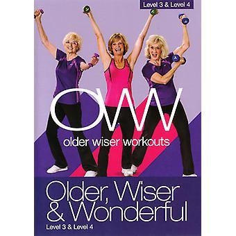 Older Wiser & Wonderful: Level 3 & 4 with Sue [DVD] USA import