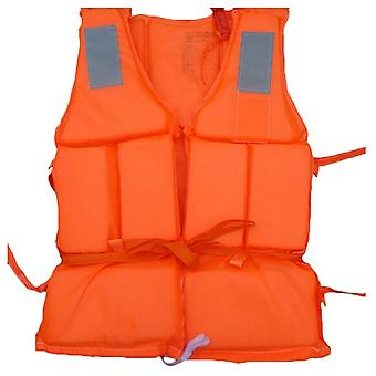 Outdoor Lightweight Adult Nylon Foam Swimming Life Jacket Vest With Sos Whistle