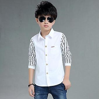 Boys Shirts Top Clothes Blouse Back To School Outfit-costume