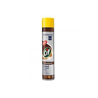 Spray Do Powierzchni Drewnianych 400ml Wood Forniture Polish Cif Professional
