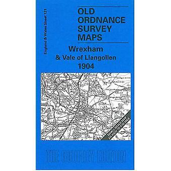 Wrexham ja Vale of Llangollen 1904 One Inch Sheet 121-tekijä Derrick Pratt