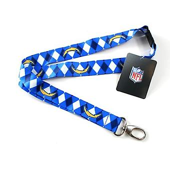 Los Angeles Chargers NFL Argyle Lanyard