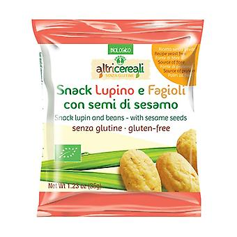 Lupine and bean snack - with sesame seeds 35 g