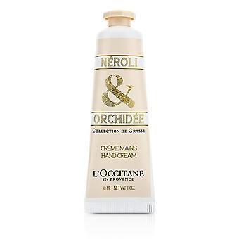 L ' Occitane Collection De Grasse Neroli & Orchidee Hand Creme 30ml / 1oz