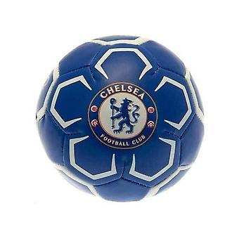 """Chelsea FC Official Supporter 4"""" Mini Soft Football Soccer Ball Blue/White"""