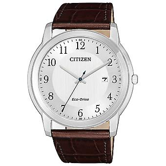 Mens Watch Citizen AW1211-12A, Quartzo, 41mm, 5ATM