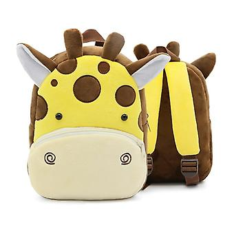Animal Cartoon School Bags - Plush Backpack For Baby