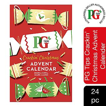 PG Tips Advent Calendar for Tea Lovers Perfect Gift for Him & Her, 48 Tea Bags