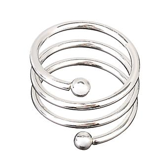 6PCS Spiral Serviette Holder Buckles Servet Rings voor Family Gatherings