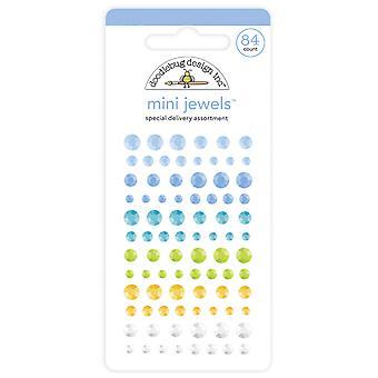 Doodlebug Design Special Delivery Mini Jewels
