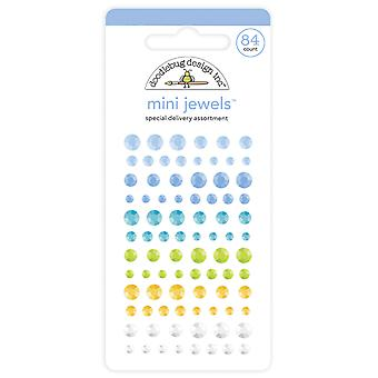 Mini joyas de entrega especial de Doodlebug Design