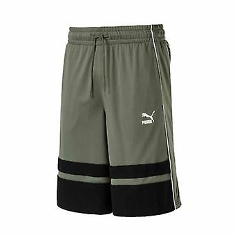 Puma Xtreme Long Mens Agave Verde Poliester Pantaloni scurți de formare 574354 03 RW40