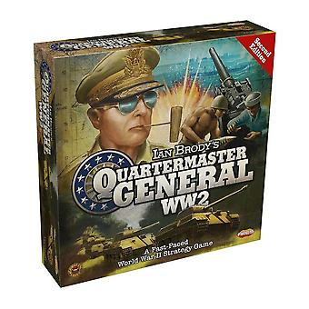 Quartermaster General WW2 2nd Edition Boad Game