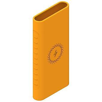 Banco de carregamento sem fio Power Bank Cobertura de silicone de silicone de borracha macia, pele