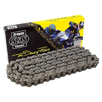 Motorcycle O-Ring Chain Black 520-98 Link