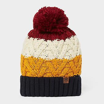 New Alpine Men's Gavin Stripe Bobble Hat Multi