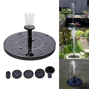 Solar Power Water Fountain Garden