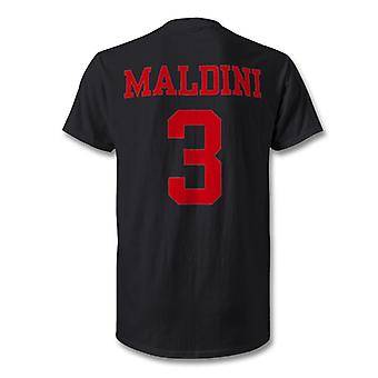 Paolo  Maldini AC Milan Legend Hero T-Shirt