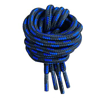 Black & Blue Hiking or Work Boot Laces