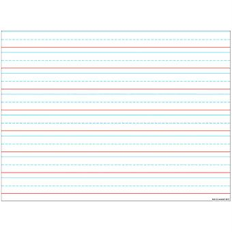 "Smart Poly Handschrift Diagramm Tablet gefüttert 3/4"", Dry-Erase Oberfläche, 17"" X 22"""