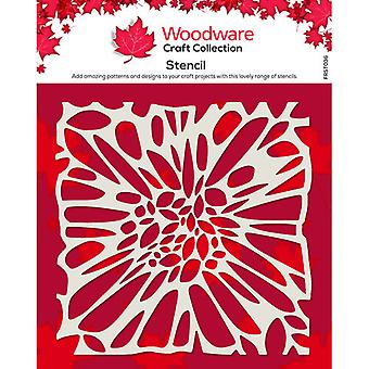 Carpintería 6 x 6 Stencil - Centro de Flores