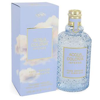 4711 Acqua Colonia Pure Breeze Of Himalaya Eau de Cologne Intense Spray (Unisex) Par 4711 5,7 oz Eau de Cologne Intense Spray
