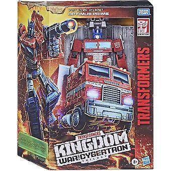 Transformers Optimus Prime WFC K Leader Series Figure