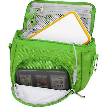 Orzly travel bag for nintendo ds consoles (new 2ds xl / 3ds / 3ds xl/new 3ds / new 3ds xl/original d wof25289