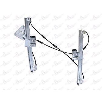 Elektrisk fönsterregulator för främre höger förarsidan (utan motor) 1.466