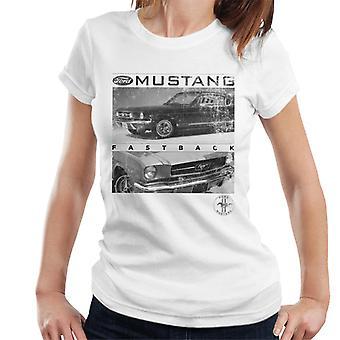 Ford Mustang Fastback Logo Naisten't-paita