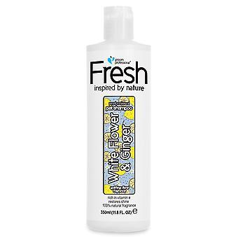 Groom Professional Fresh White Flower & Ginger Coat Shine Shampoo